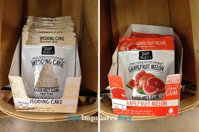 Project 7 Wedding Cake and Grapefruit Melon Gourmet Gum
