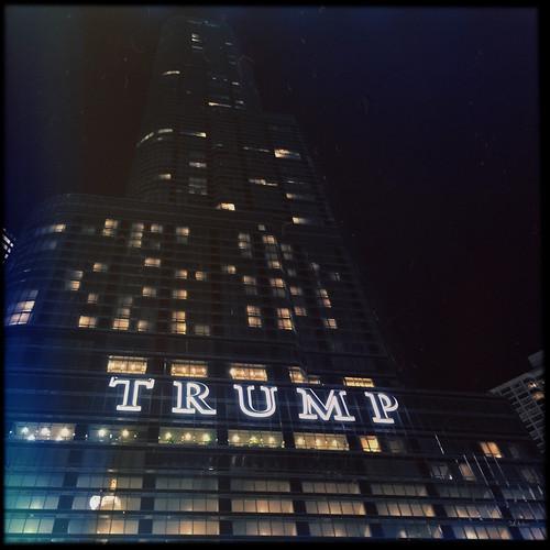 Trump At Night