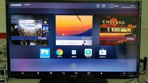 มันคือ Android ที่ปรับ Home screen มาเพื่อเป็น Android box