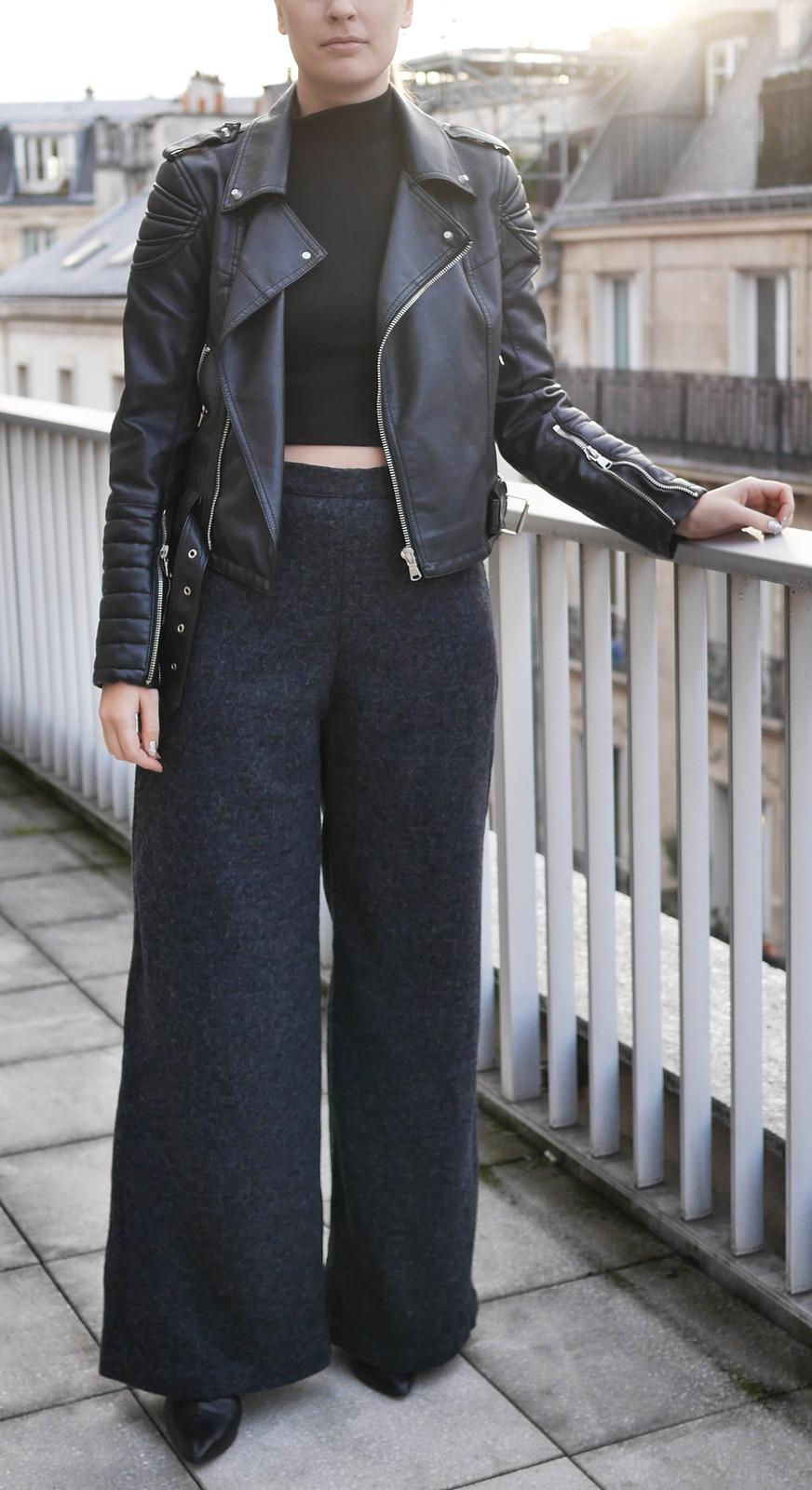 Sewing couture trousers