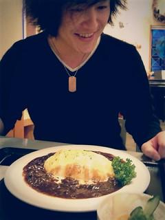 レストランより洋食屋!美幌亭でオムハヤシ