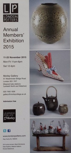 London Potters Annual Exhibition 2015