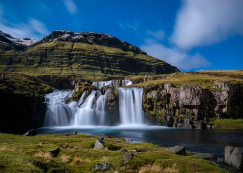 Iceland waterfall, Iceland