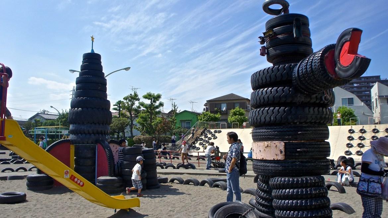 Tire Park at Kamata