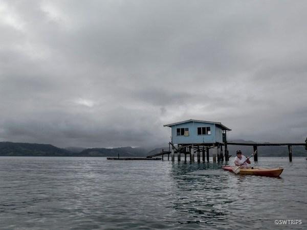 Kayaking, Natewa Bay, Fiji