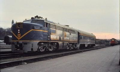 D&H PA at Albany NY Nov 1976