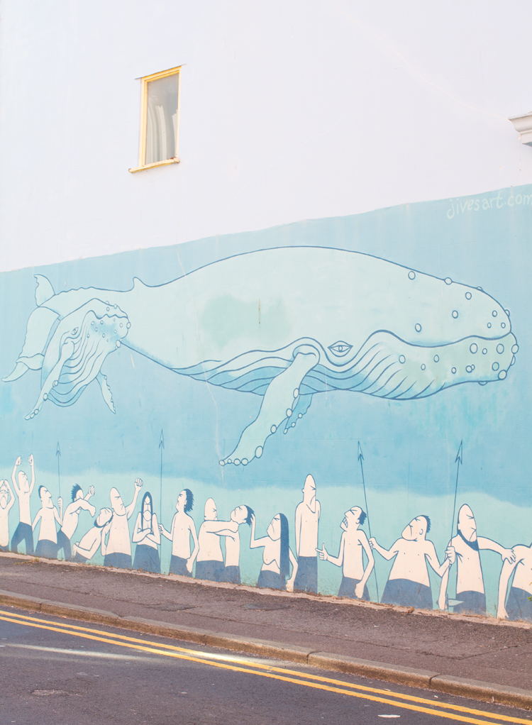 6 whale graffiti