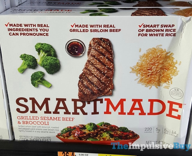 Smart Made Grilled Sesame Beef & Broccoli