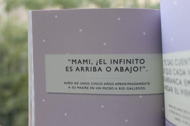 El infinito es arriba o es abajo (Libro)
