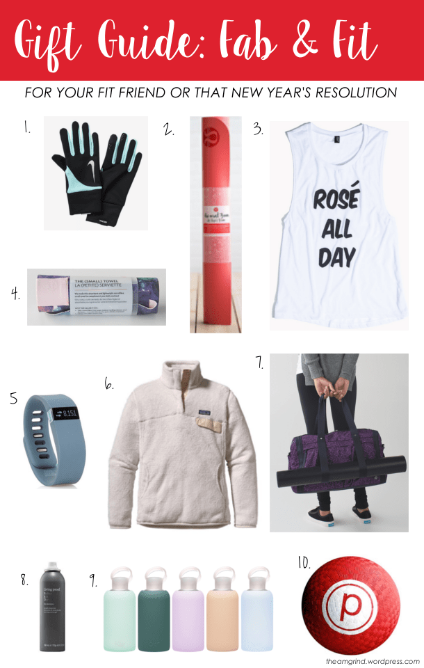 Gift Guide Athlete
