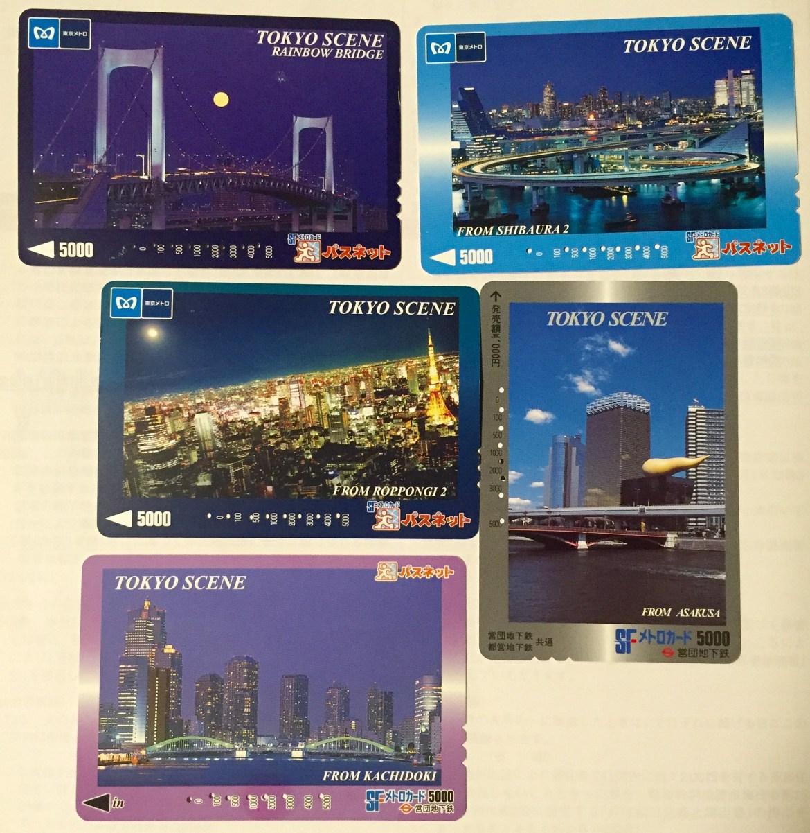 SF Metro Card, Passnet, SFメトロカード、パスネット