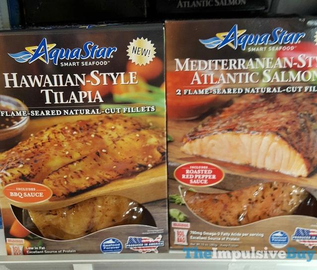 Aqua Star Hawaiian-Style Tilapia and Mediterranean-Style Atlantic Salmon