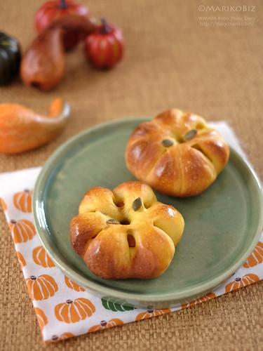 かぼちゃあんパン 20151007-DSCF0262
