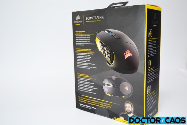 Corsair Scimitar RGB Gaming 12000 DPI (3)