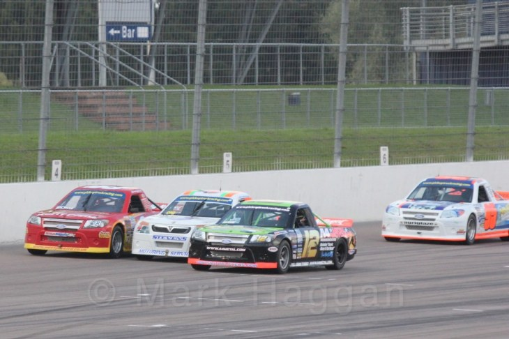 Pick Up Truck Racing, Rockingham, Sept 2015