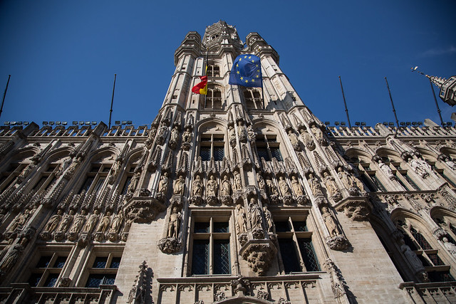 Grand Place Belgium Brussels #ユーレイル