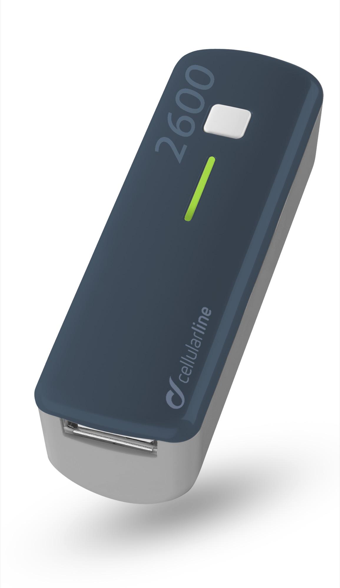De Pocketcharger 2600 past zelfs in je broekzak!