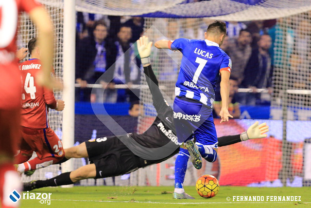 Jornada 10ª. R.C.Deportivo 1 - Atlético de Madrid 1