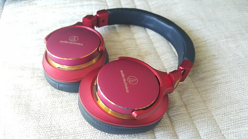 ตัวหูฟัง audio-technica ATH-MSR7LTD