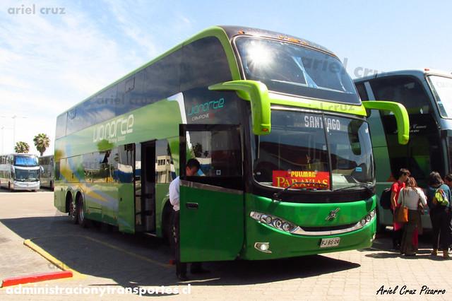 Pullman Paravías (Palmira) | La Serena | Comil Campione DD - Volvo (FJBS24)