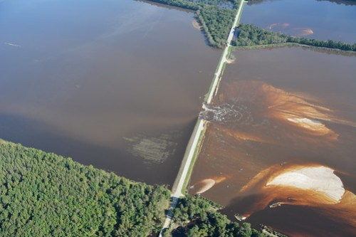 Highway 301 Flooding Aerial 3