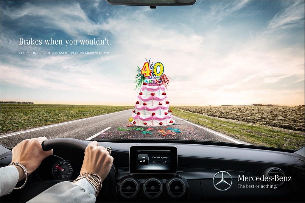 Mercedes Benz - Cake