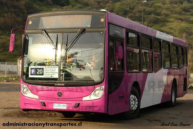 Transantiago - STP Santiago - Caio Mondego H / Mercedes Benz (CJRC20)