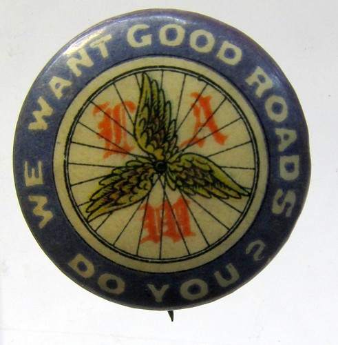 1896 Good Roads Pin