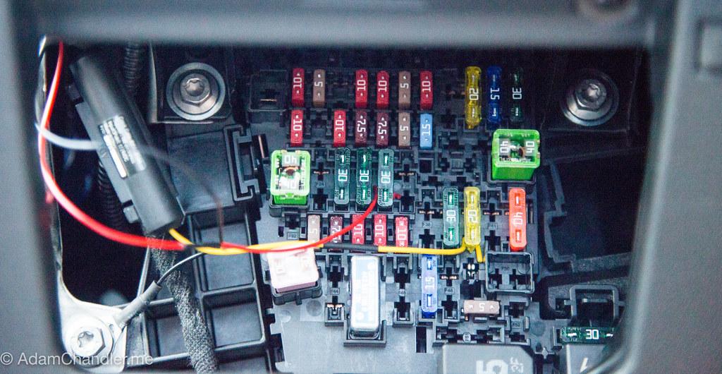 2015 Focus Passenger Fuse Box Vwvortex Com Dash Cam Install Guide Thinkware F750