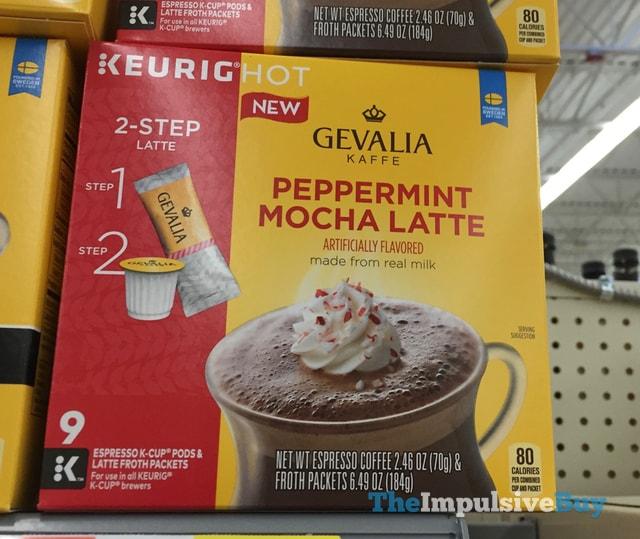 Gevalia Kaffe Peppermint Mocha Latte K-Cup