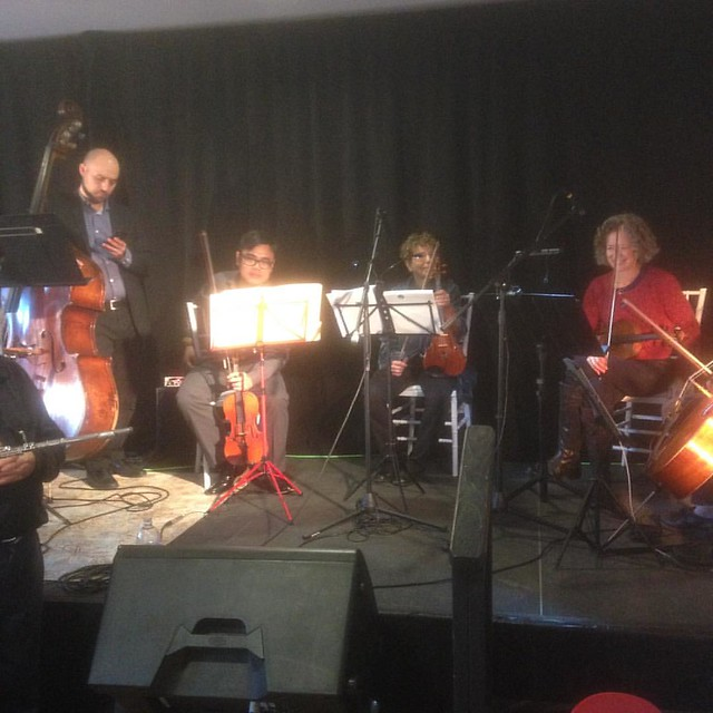 "The brand new ""X Ensemble"" in rehearsal... :)"