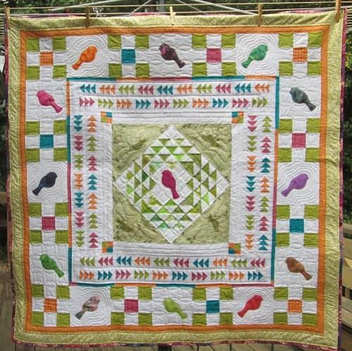Portlandia Round Robin Quilt