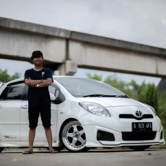 Toyota Yaris Trd Modif Grand New Veloz 1.5 A/t Gettinlow Modifikasi Simpel 2012 Milik