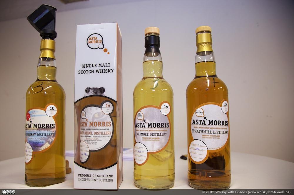 De lokale whisky shop organiseert af en toe eens een proeverij!