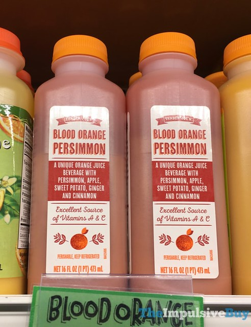 Trader Joe's Blood Orange Persimmon Juice