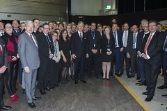 King Philippe meets Belgian ESA employees