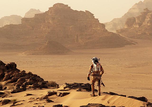 Wadi Rum Jordan The Martian