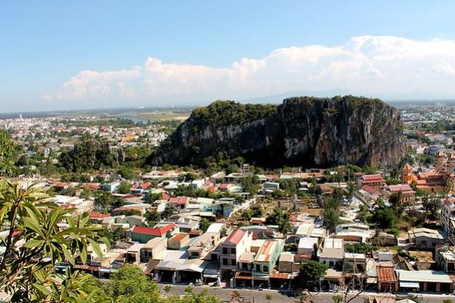 Montañas de mármol de Danang