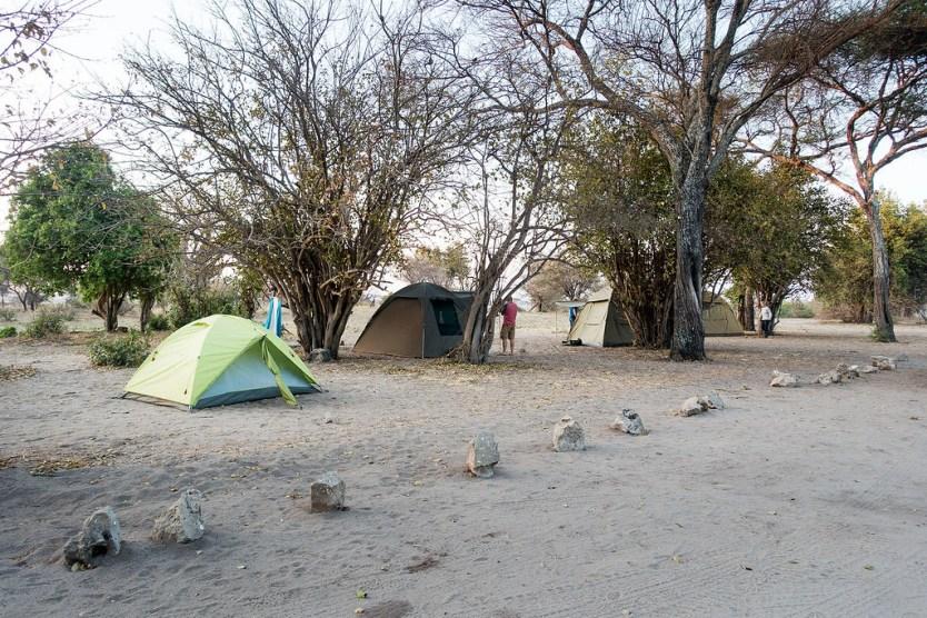 Our campsite in Tarangire National Park