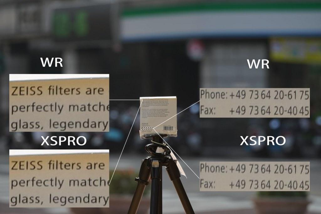 逆光環境 WR & XSPRO