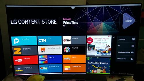 เป็นสมาร์ททีวี สามารถดาวน์โหลด Content มาเพิ่มได้