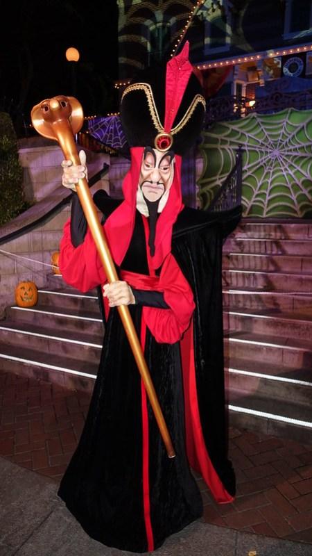 Jafar at Disneyland Halloween Party