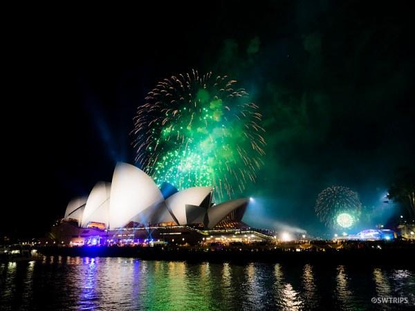 New Year's Eve Fireworks, Sydney