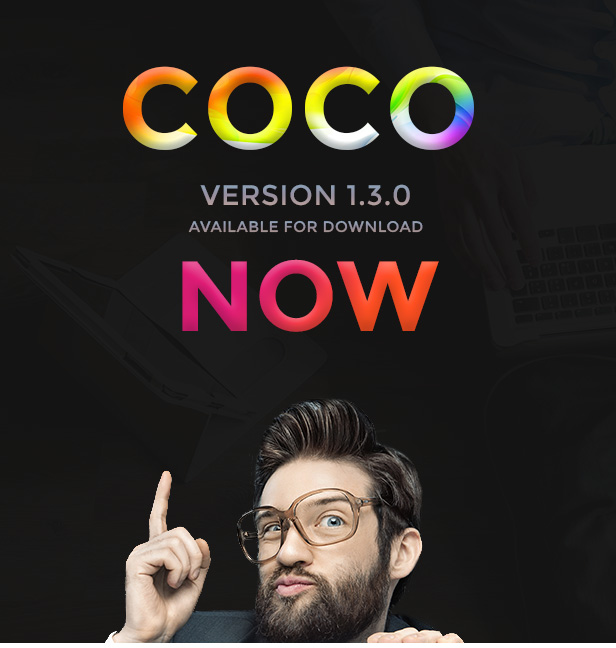 Coco PSD Template ver 1.3.0 Now