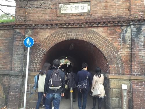 トンネル抜けて行きまーす!