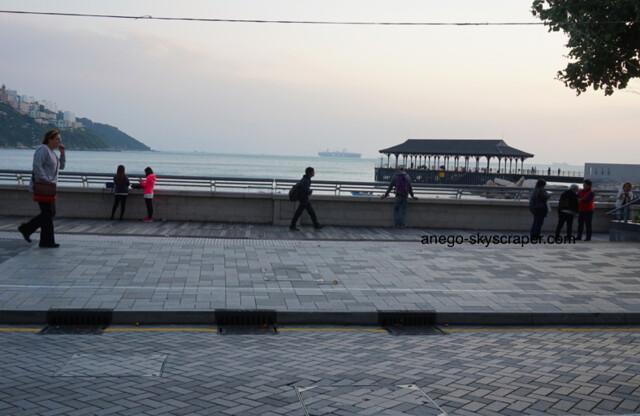 赤柱 船と埠頭
