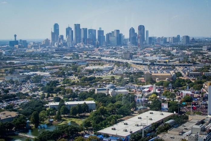 Downtown Dallas Top O Texas Ride