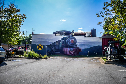 Whistle Stop Cafe Mural