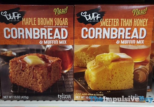 Duff Goldman Maple Brown Sugar and Sweeter Than Hoey Cornbread & Muffin Mix