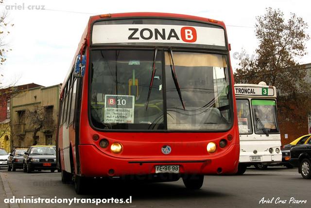Transantiago - Buses Gran Santiago - Metalpar Tronador / Mercedes Benz (YE9699)